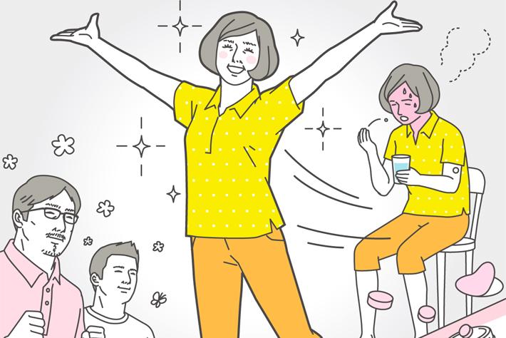 更年期症状が重い人と軽い人の差とは?