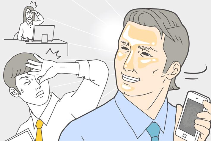 顔のテカリやギラつきを防ぎ、サッパリ肌を長続きさせるコツは?
