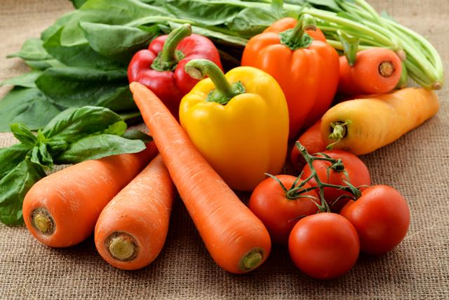 肉と同じ量の野菜を摂取するのが理想